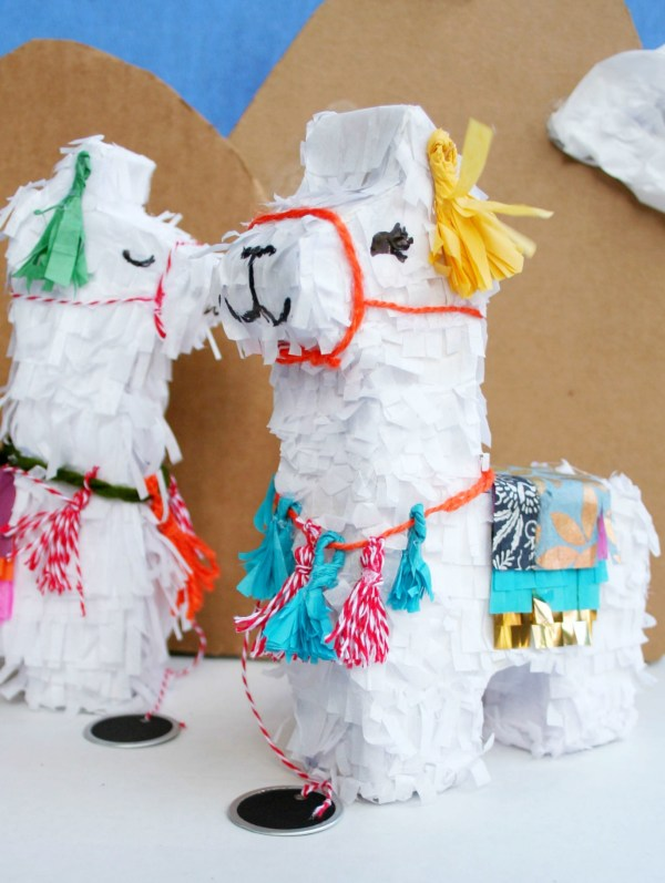 Llama Pinata Invitations Diy Brookhaven House