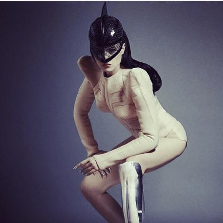 "Pop singer and DJ Viktoria Modesta, self-described ""Bionik Woman,"" from the artist's Instagram, https://instagram.com/viktoriamodesta"