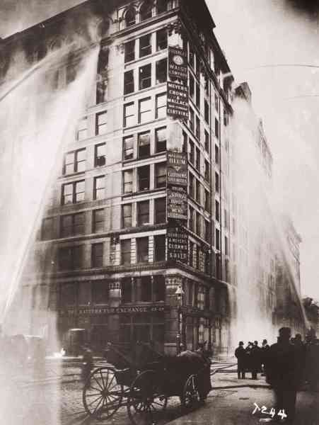 The Triangle Shirtwaist Factory fire on March 25th,1911