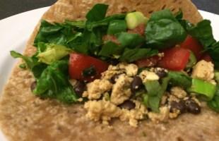 Meatless Taco Thursday-Tofu and Black Bean Tacos