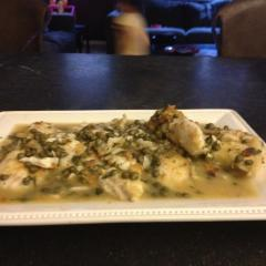 Lightened up Chicken Piccata