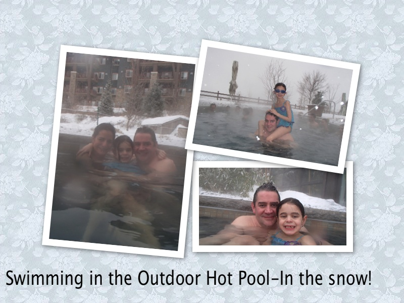 Outdoor Hot Tub at Grand Cascades Lodge