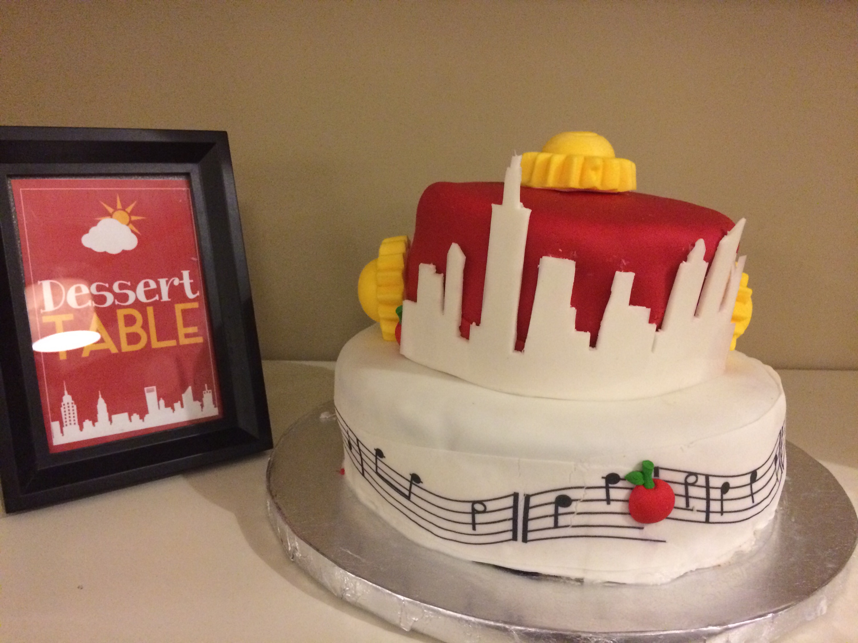 Annie the Movie Birthday Cake