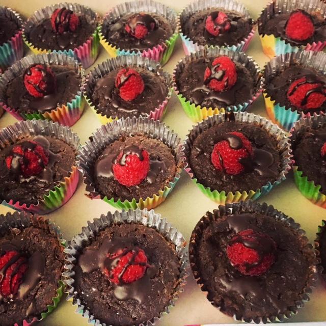 Zucchini Brownie Cupcakes