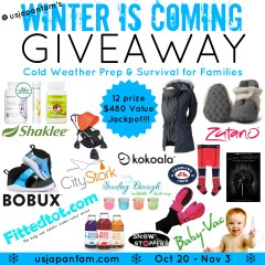 Winter is Coming Family GIVEAWAY!