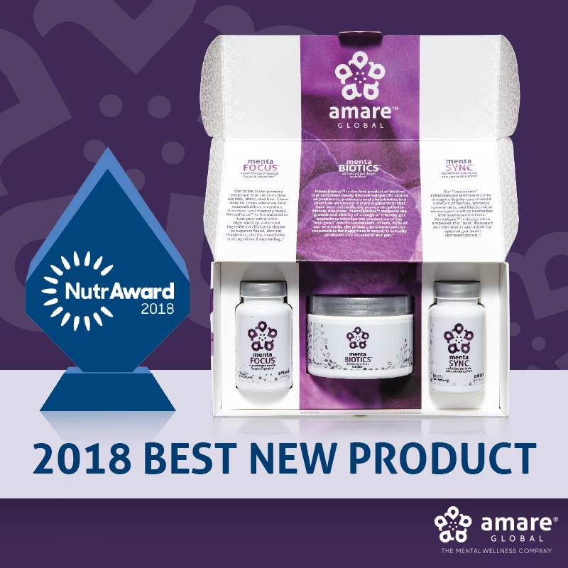 Gut Brain Axis NutrAward 2018 Best New Product