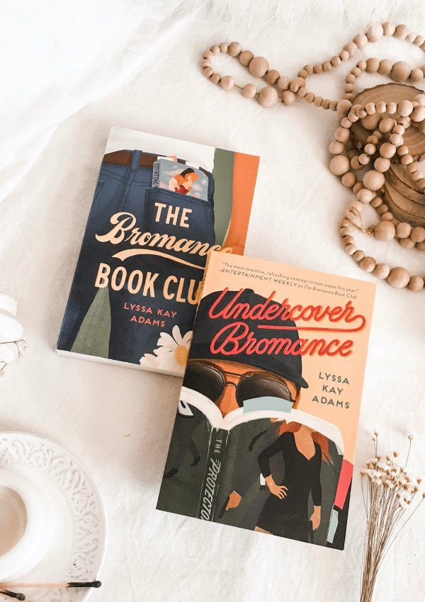 BOOK REVIEW: Undercover Bromance by Lyssa Kay Adams / my most favorite kind of book club