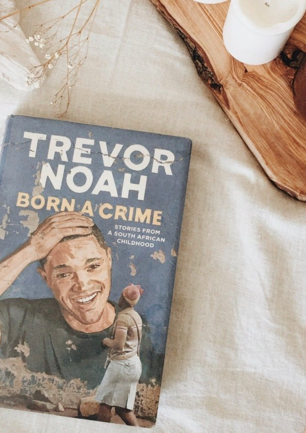 BORN A CRIME: STORIES FROM A SOUTH AFRICAN CHILDHOOD BY TREVOR NOAH // AUDIOBOOK REVIEW