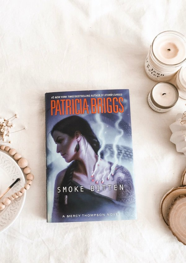 Smoke Bitten by Patricia Briggs / as always exactly what I needed