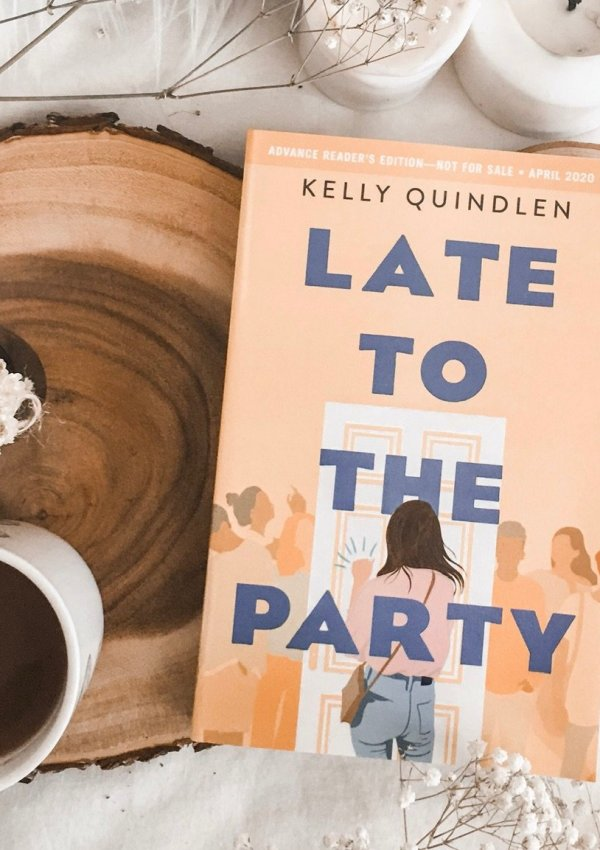 Late to the Party by Kelly Quindlen / young adult LGBTQ novel