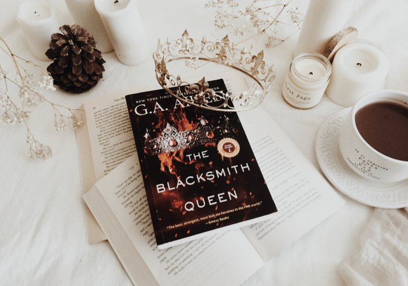 The The Blacksmith Queen by GA Aiken Queen by G.A. Aiken