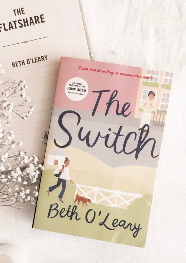 BOOK REVIEW: The Switch by Beth O'Leary + Bonus Material / Charmingly British and a true feel good novel