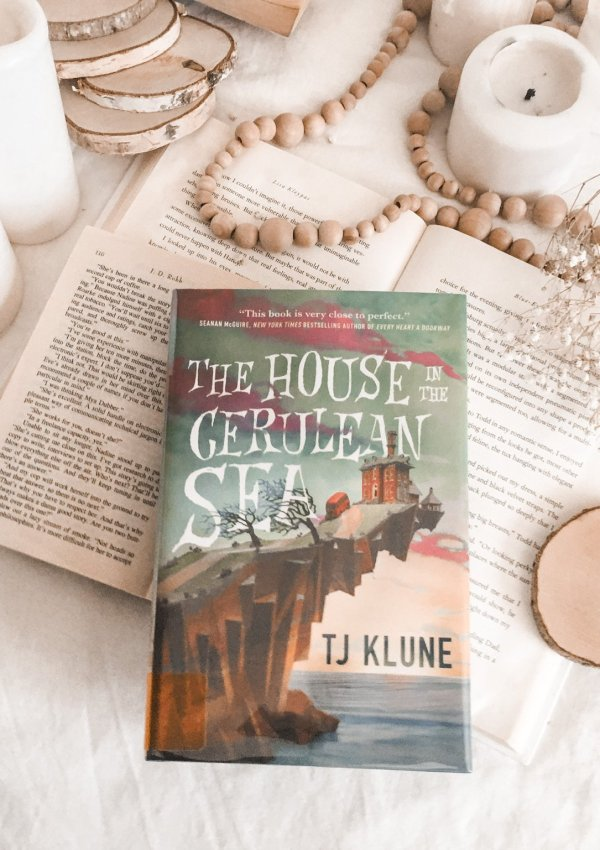 The House in the Cerulean Sea by TJ Klune / charmingly magical, and truly one of a kind