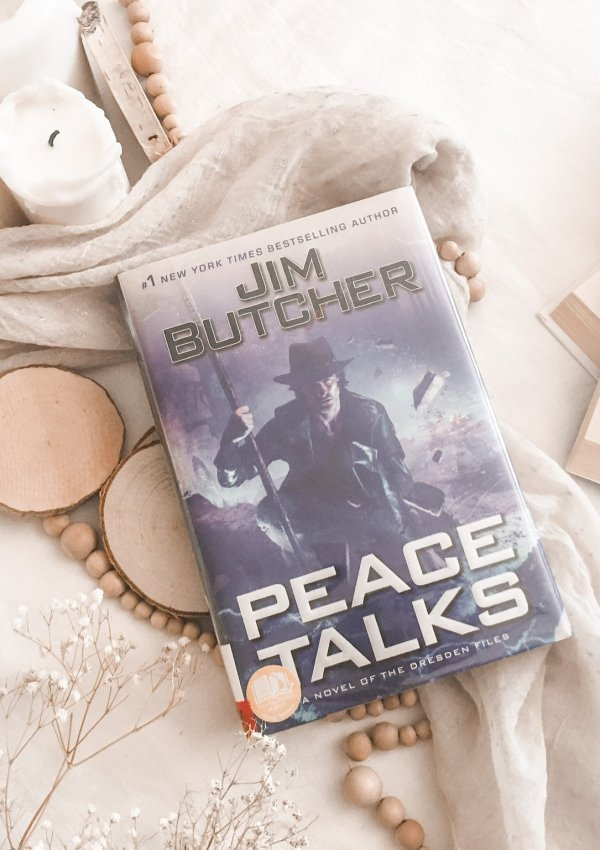 Peace Talks by Jim Butcher / the wait is finally over