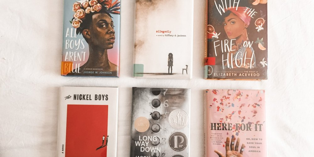 Books I read & loved by BIPOC Authors