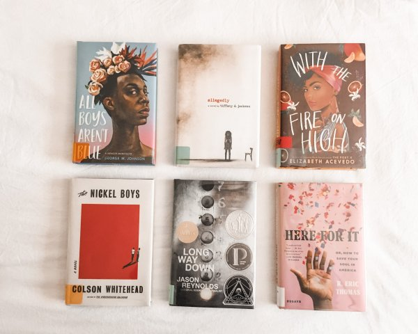 Books I read and loved by BIPOC Authors / 2020