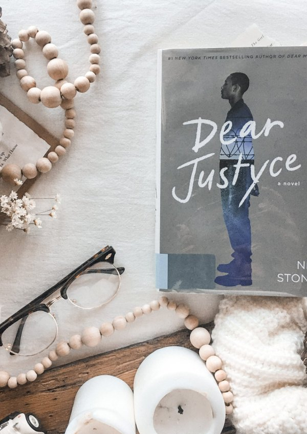AUDIOBOOK REVIEW: Dear Justyce by Nic Stone / one word – POWERFUL!!!