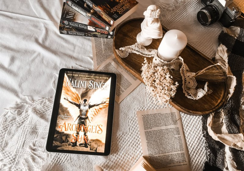 Archangel's Sun by Nalini Singh | BOOK REVIEW