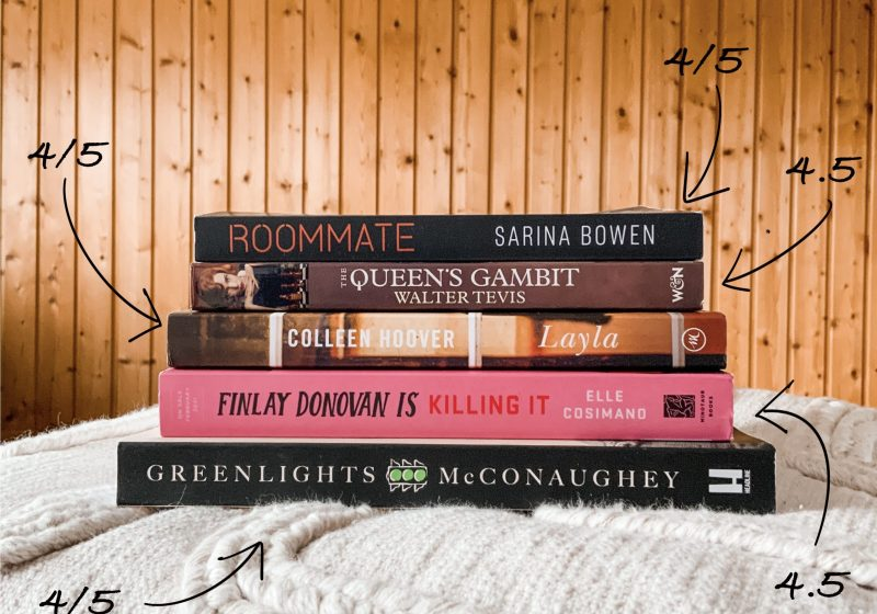 The books I read in January - Monthly Wrap Up