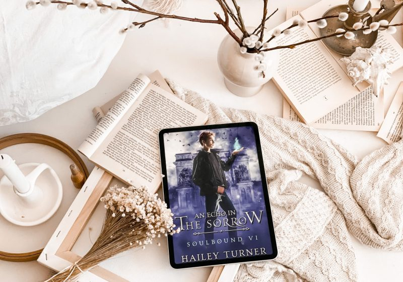 An Echo in the Sorrow by Hailey Turner | BOOK REVIEW | MM URBAN FANTASY