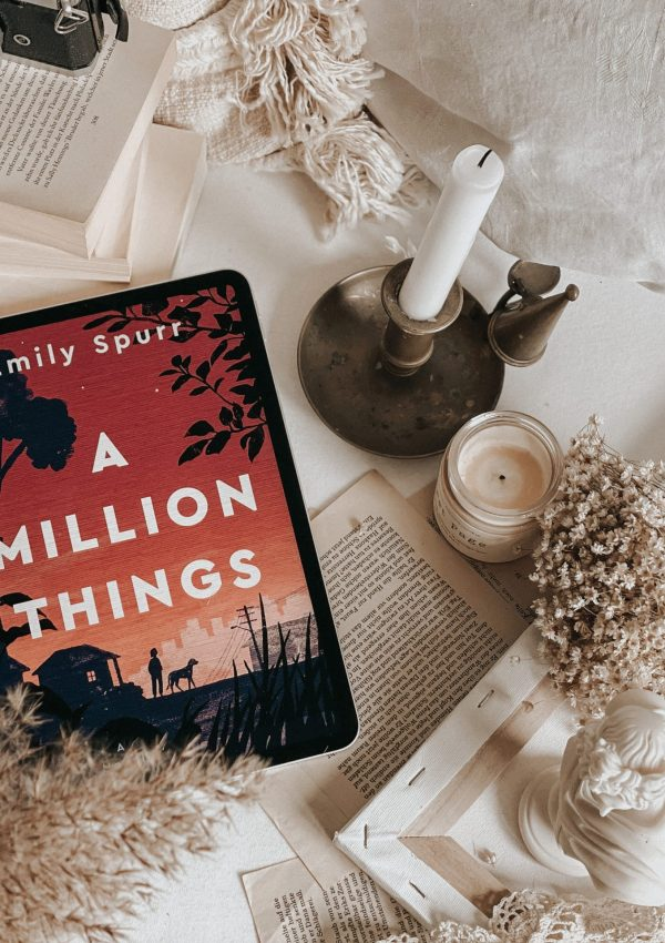 A Million Things by Emily Spurr  | BOOK REVIEW | FIVE STARS