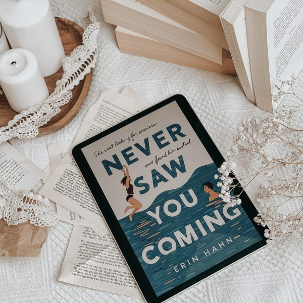 Never Saw You Coming by Erin Hahn | YOUNG ADULT BOOK REVIEW & LETTER FROM AUTHOR