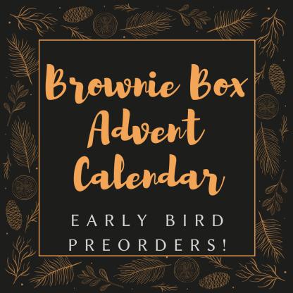 brownie advent calendar