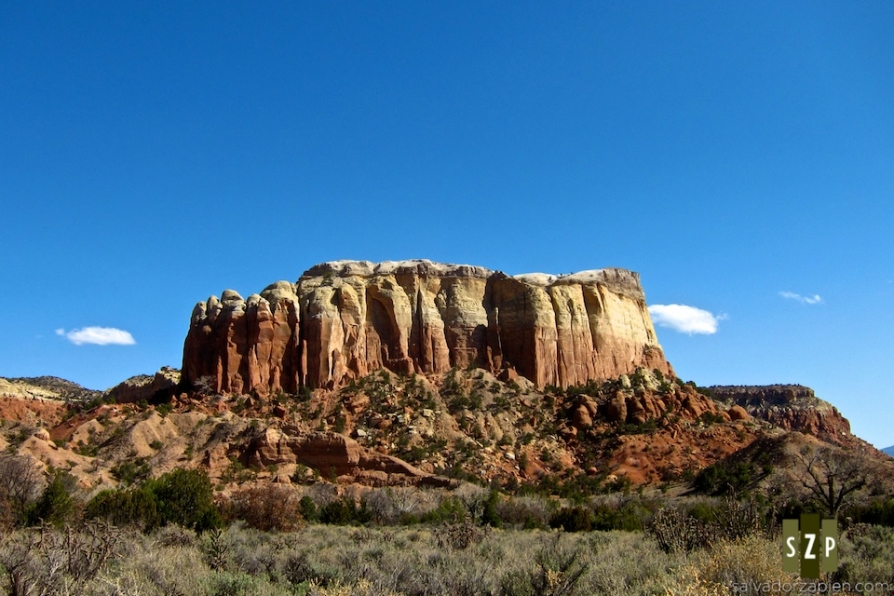 Ghost Ranch near Abiquiu NM  thebrownmancom