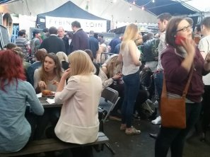 Crowds at Digbeth Dining Club, Brum Diaries