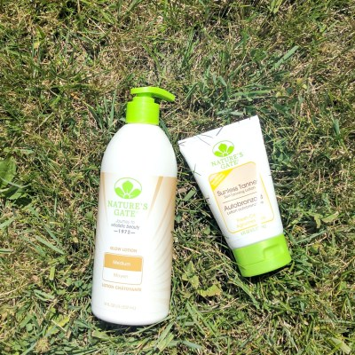 Get Your Glow On With Nature's Gate Sunless Tanner & Glow Lotion!