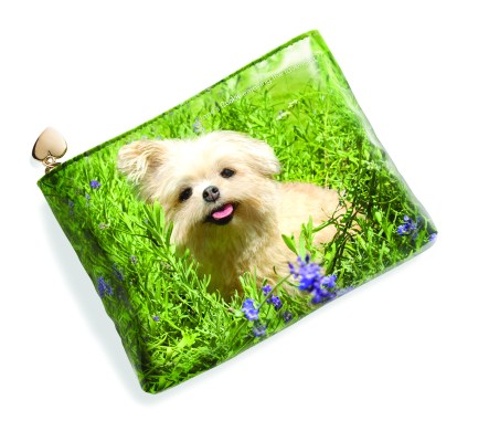 Celebrating National Dog Day By Giving Back With Jane Iredale's Limited Edition Cosmetics Bag