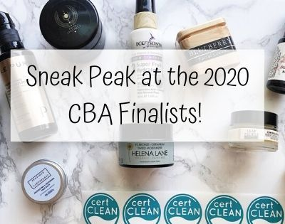 Clean Beauty Awards 2020 Finalists – Sneak Peak!