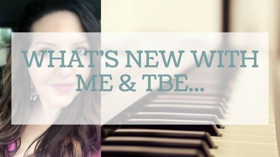 What's New With Me & the Blog..