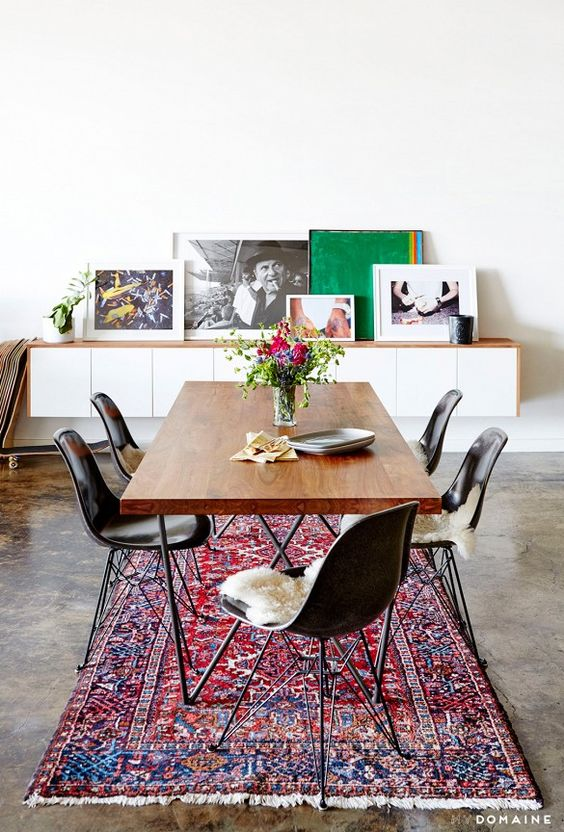 The Brunette One Dining Room Inspiration