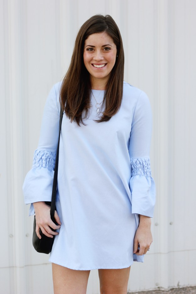 the-brunette-one-bell-sleeve-dress