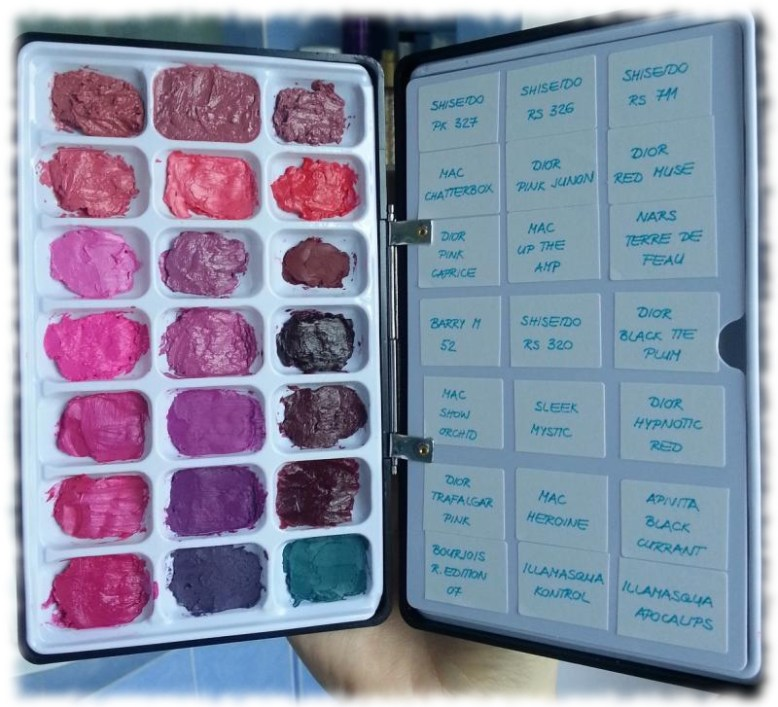 Japonesque  lipstick palette