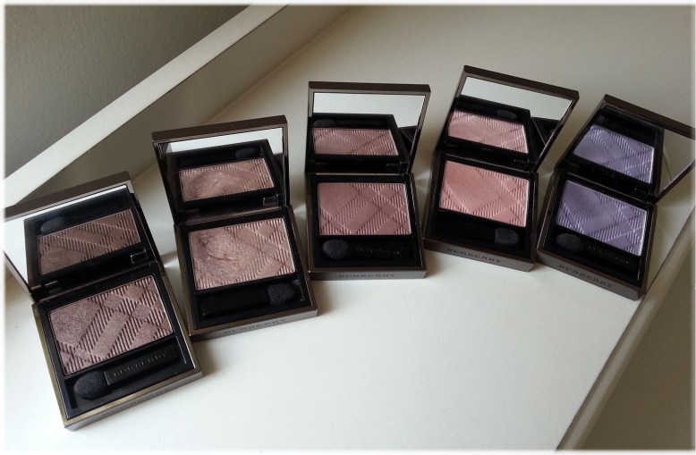 Burberry Sheer Eyeshadows 5