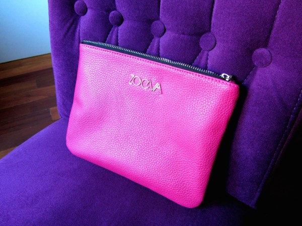 Zoeva Pink Brush Bag