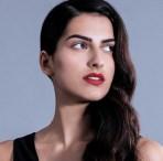 Bold Lips Editorial Look Photoshoot