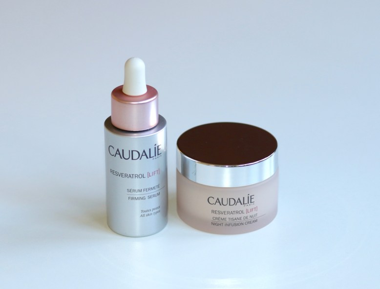 Caudalie Resveratrol Lift Serum and Night Cream 2