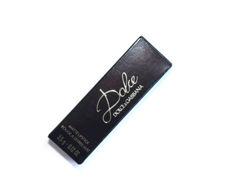 Dolce And Gabbana Matte Lipstick 222 Dolce Rosa 1
