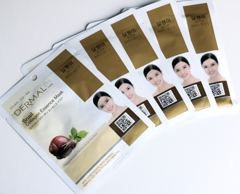 dermal-snail-collagen-essence-mask-1