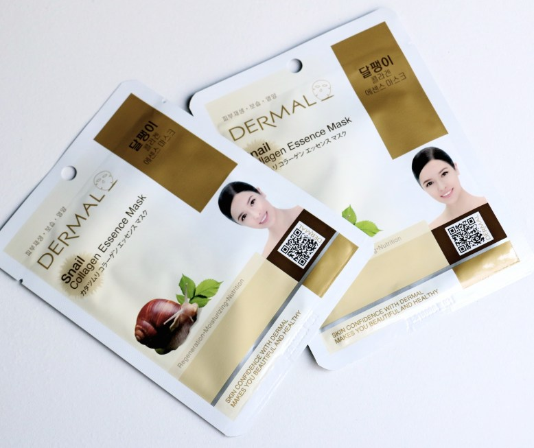 dermal-snail-collagen-essence-mask-2