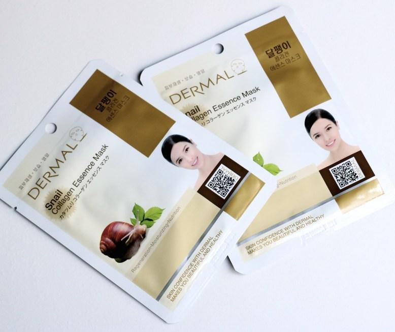 dermal-snail-collagen-essence-mask-2