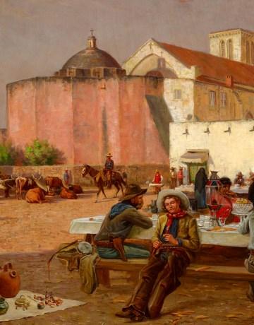 Market Plaza, Robert Jenkins Onderdonk, 1880