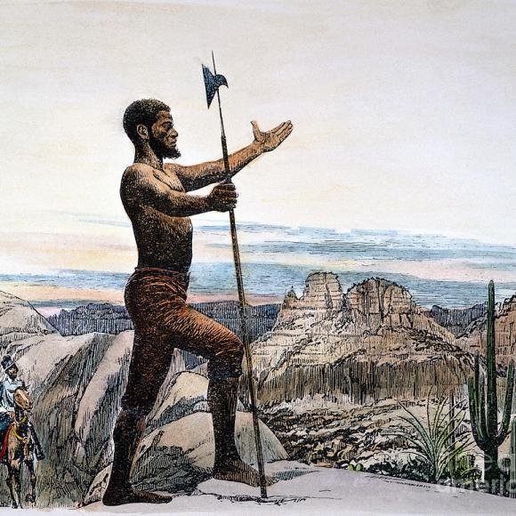 Estevan –  A FIGURE OF MYTH & HISTORY
