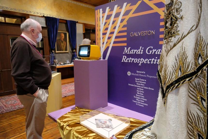 The Centerpiece of the Mardi Gras, a Retrospective Exhibit