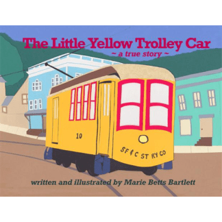 The Little Yellow Trolley Car