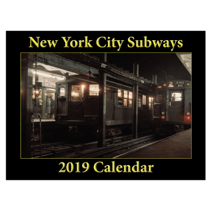 New York City Subways 2019 Calendar