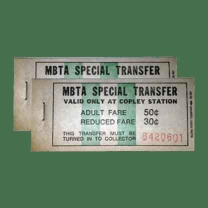 MBTA Green Line Transfer Pads